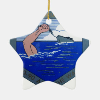 USS Cahokia ATA-186 セラミックオーナメント