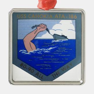 USS Cahokia ATA-186 メタルオーナメント
