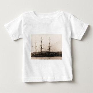 USS Constellation 1855年 ベビーTシャツ