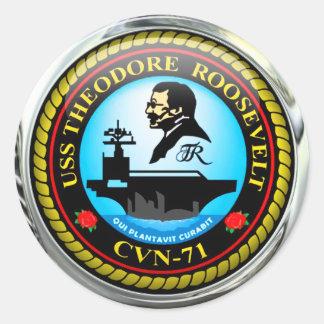 USS Theodore Roosevelt CVN-71 ラウンドシール