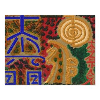 USUIの霊気の記号 カード