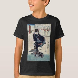 Utagawa著1つ、Kuniyoshiの浮世絵 Tシャツ