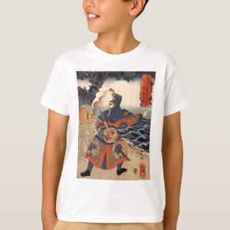 Utagawa著connonに荷を積むKotenrai Ryioshin Tシャツ