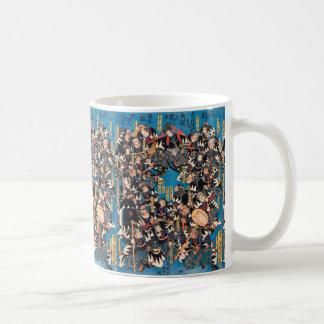Utagawa Kunisadaの体制支持者の議論のukiyo-eの芸術 コーヒーマグカップ