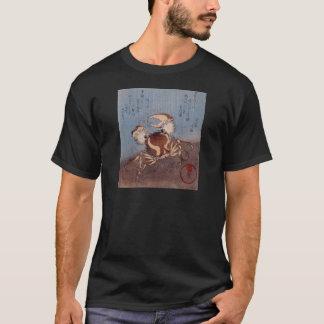 Utagawa Kunisada著海岸のカニ Tシャツ