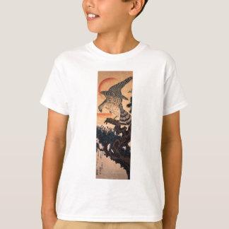 Utagawa Kuniyoshi著タカ Tシャツ