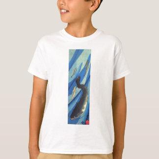 Utagawa Kuniyoshi著ナマズ Tシャツ