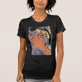 Utagawa Kuniyoshi著ロブスター Tシャツ