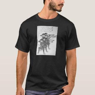 Utagawa Kuniyoshi著夜発砲のためのひも Tシャツ