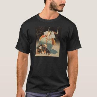 Utagawa Kuniyoshi著征服される武士および Tシャツ