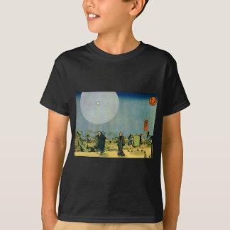 Utagawa Kuniyoshi著月 Tシャツ