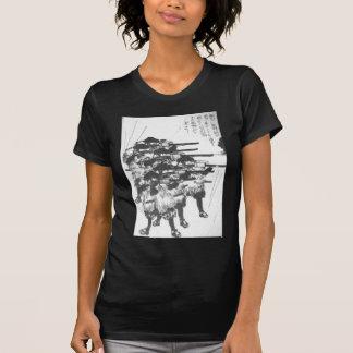 Utagawa Kuniyoshi著雨に対するラッカーを塗られた箱 Tシャツ