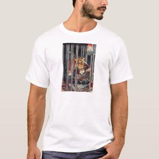 Utagawa Kuniyoshi著Narumiの夜雨 Tシャツ