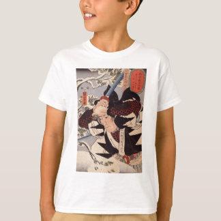 Utagawa Kuniyoshi著Tominomori Tシャツ
