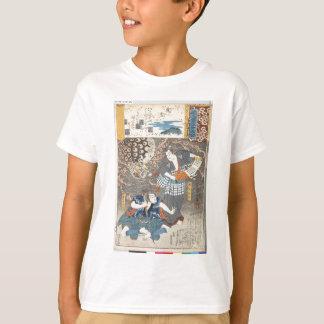 Utagawa Kuniyoshi著Tsuchigumo Tシャツ