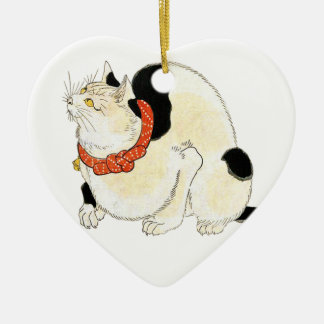 Utagawa Kuniyoshi, Cat for rat extermination セラミックオーナメント