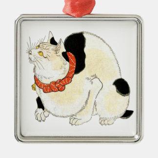 Utagawa Kuniyoshi, Cat for rat extermination メタルオーナメント