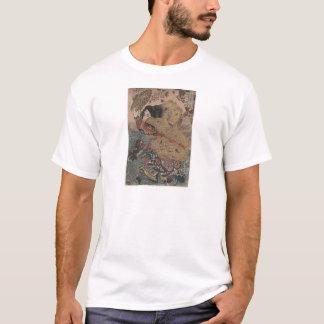 Utagawa Kuniyoshi - Kinhyoshi Yorinの木版画のプリント Tシャツ