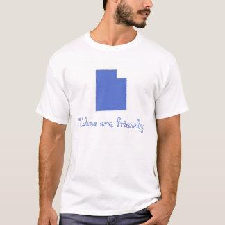 Utahnsはフレンドリーです Tシャツ