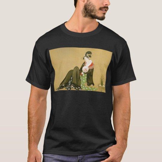 Utamaro -UKIYOE- Tシャツ