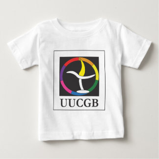 UUCGBのロゴ項目 ベビーTシャツ