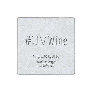 UVWineの石造りの磁石のHashtagの独身のなコレクション ストーンマグネット