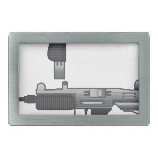 Uzi銃のベクトル 長方形ベルトバックル