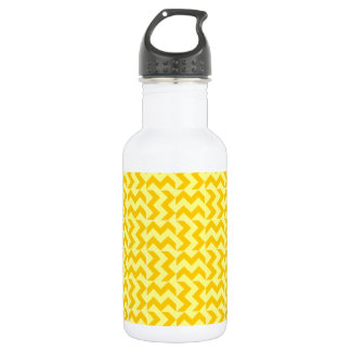 VおよびHの広いジグザグ形-黄色および蜜柑の黄色 ウォーターボトル