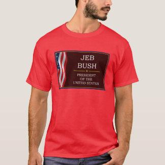 V3ジェブ・ブッシュの大統領 Tシャツ