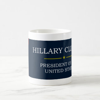 V3ヒラリー・クリントンの大統領 コーヒーマグカップ