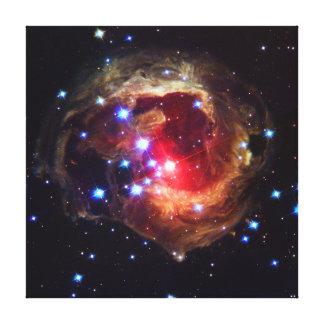 V838 Monocerotisの星(ハッブルの望遠鏡) キャンバスプリント