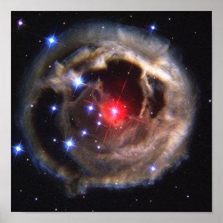 V838 Monocerotisの星NASA ポスター