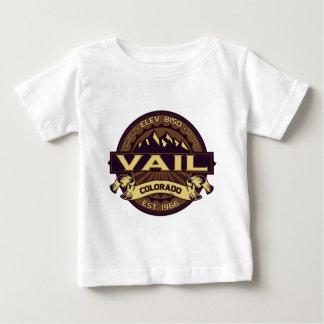 Vailのセピア色 ベビーTシャツ