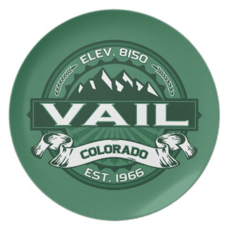 Vailのロゴの森林 プレート