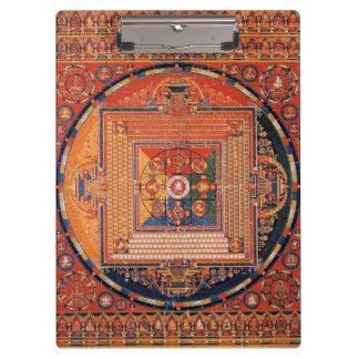Vajradhatu Thangkaの曼荼羅 クリップボード