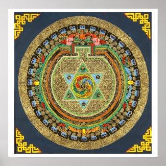 Vajrayoginiの信念の曼荼羅 プリント