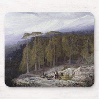 Valdoniello、コルシカ1869年の森林(cの油 マウスパッド