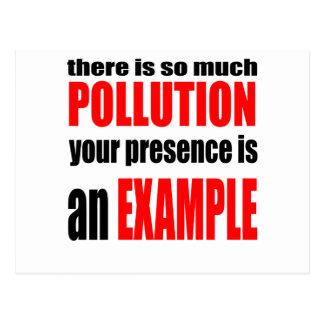 valent生態学者の地球のアンチを保護するために汚染をストップ ポストカード