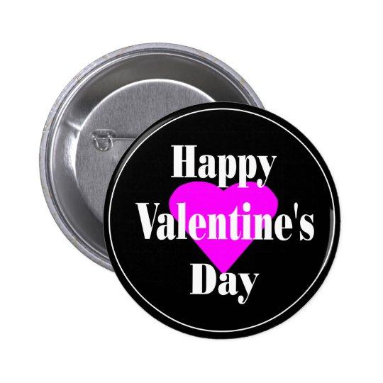 valentine007 5.7cm 丸型バッジ