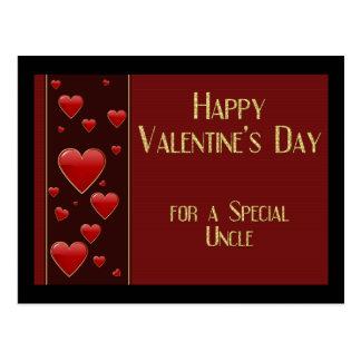 Valentine Postcard叔父さん ポストカード