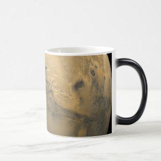 Valles Marineris: 火星のグランドキャニオン モーフィングマグカップ