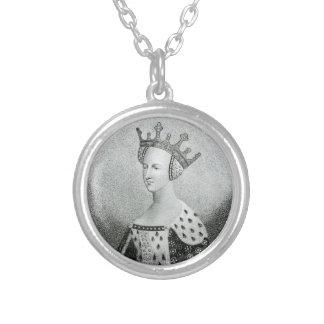 Valoisのネックレスのキャサリン シルバープレートネックレス