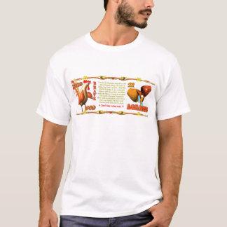 Valxartの(占星術の)十二宮図の地球のオンドリの生まれるアクエリアス1969年 Tシャツ