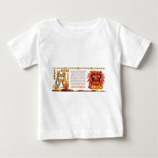 ValxArtの(占星術の)十二宮図の地球犬レオは1958 2018年を生まれます ベビーTシャツ