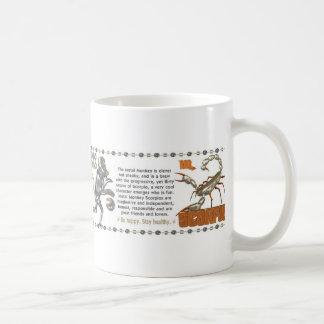 ValxArtの(占星術の)十二宮図の蠍座の金属猿1980年1920年 コーヒーマグカップ