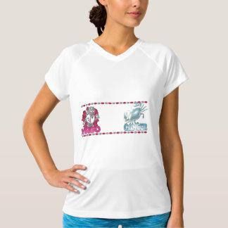 Valxart著《星座》乙女座の蟹座の友情のデザイン Tシャツ