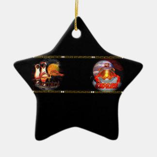 Valxart Gemincerはジェミニ蟹座の(占星術の)十二宮図の先端です セラミックオーナメント