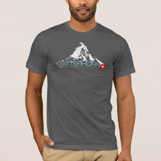 VAM: マッターホルンのスイス人のMontanierのティー Tシャツ