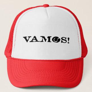 Vamos! プレーヤーまたはコーチのためのテニスの帽子のトラック運転手の帽子 キャップ