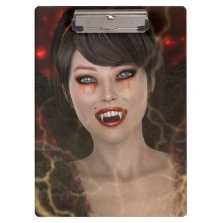Vamp女性 クリップボード